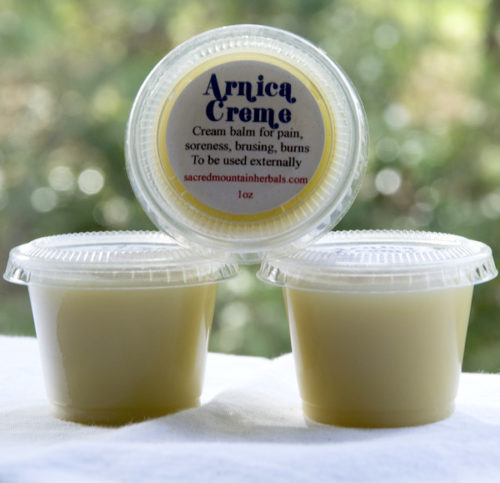 Arnica Cream Balm for Pain and Inflammation, bruises, burns