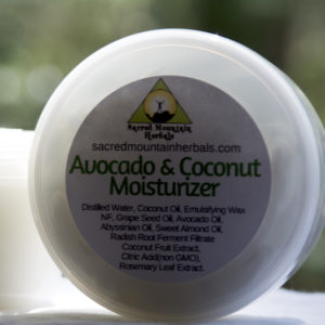 Avocado Coconut Moisturizer Body Face Moisturizing Lotion