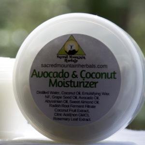 Avocado Coconut Moisturizer Body Face Moisturizing Lotion