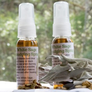 White Sage Smudging Spray Palo Santo Clear Cleanse Home or Office